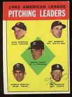 1963 Topps #8 Jim Bunning auto HOF Tigers vintage signed autograph