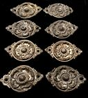 8 VTG Antique BRASS Embellishments Ornate Hardware Decorative Accent Ormolu