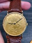 Corum $20 Liberty Gold Coin Eagle watch, Rare Manual Wind with ALL PAPERS! 1895