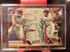 1998 Stadium Club Co-Signers Larry Walker Andres Galarraga AUTO Autograph TOPPS