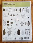 Stampin Up Beetles and Bugs Retired Stamp Set new unmounted