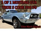 1967 Ford Mustang GTA TRUE S CODE AC 1 of 1  Elite Marti Report 1967 Ford Mustang GTA TRUE S CODE AC 1 of 1  Elite Marti Report 2694 Miles Br