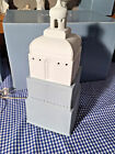 Lladro 8920 METROPOLIS LAMP WHITE 01008920 Excellent condition Retired