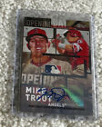 MIKE TROUT 2018 Topps Series 1 Opening Day Insert Autograph #'d 2 5 Rare!