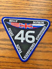 Official NASA ISS Expedition 46 Embroidered Mission Patch Kelly New