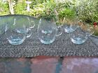 6 Vintage Crystal Tea / punch cups