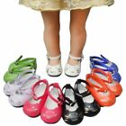 Fashion Dress Up Glitter 43cm Doll Boots Warm Fur Shoes Zapf Baby Toy Sneaker