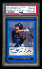 2009 BOWMAN CHROME LOGAN FORSYTHE RC BLUE REFRACTOR AUTO DODGERS 150 PSA 10 GEM