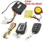 motor lock security 2way alarm 125dB Remote Control engine start anti cut off
