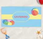Personalized Summer Fun Beach Towel