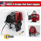 49CC 4 Stroke Gas Petrol Motorized Bike Bicycle DIY Engine Motor ATV Scooter