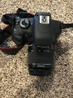 Canon EOS Rebel T5 EOS 1200D 180MP Digital SLR Camera Black Kit w EF S IS