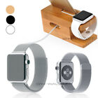 Alloy Loop Stainless Steel Mesh Band+Charging Stand for A pple watch 42mm