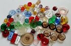 Antique Some Glass on Glass Buttons