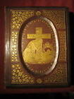 LEATHER BOUND LIFE OF THE BLESSED VIRGIN MARY 1869 ORSINI & RUTTER GILT EDGE