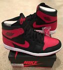 Nike Air Jordan Retro 1 High OG Bred 2013 Size 15 Red White Black Toe Chicago
