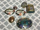 Vintage Enamel Jewlery Lot