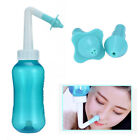 300ml Nasal Wash Neti Pot Nose Clean Bottle Irrigator Saline Allergic Irrigation