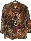 Ruby Red womens top pullover XL