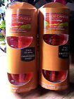 New Yankee Candle AUTUMN LEAVES Electric Plug In Refills 2 Boxes 4 bulbs
