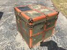 barnum steamer trunk Train Railroad 1900s 1800s Antique Drawer Vtg Luggage Chest