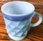 Fire King Blue Diamond Coffee Mug - Excellent Condition