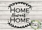 Home Sweet Home vinyl decal for crafting DIY home decor projects