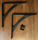Arch Cast Iron Shelf Brackets (Pair)