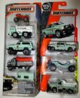 Matchbox Diecast US Forest Service Park Police Wildland Fire Trucks Ranger Lot