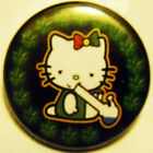 12 MELLO KITTY pinback  buttons badges 1.75""