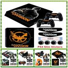 For Sony Palystation 4 PS4 Slim console of Division Game skin sticker decals