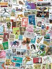 World Kiloware lot of 1000 ALL Different worldwide stamps Off papermintused
