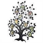 Black Decorative Photo Frame Tree Style Collage Iron Metal Wall Picture