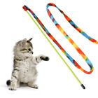 cat dancer charmer rainbows teaser stick kitten wand colorful toy SY