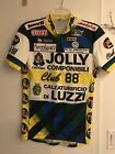 Vintage Jolly Componibili Italy Club 88 Mavic Modolo Cycling Team Jersey S M