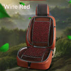 Cooling Natural Wood Beads Car Seat Cover Mesh Mat Fit Auto Home Chair Cushion