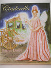 Old Fashioned CINDERELLA Paper Doll Book w Gorgeous 17th Century Costumes