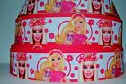 78 1.5 Grosgrain Ribbon Diva Barbie Princess Barbie Princess Printed.