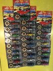 Johnny Lightening Diecast Muscle Cars Lot of 28 w numbered Commemorative Coin