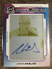 Aaron Ekblad 2014-15 The Cup Auto Rookie Masterpieces Yellow Plate SP #1 1