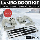 Universal Door Bolt On Vertical Doors Kit For Toyota Ford Most Of Car