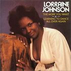 LORRAINE JOHNSON The More You Want / Learning To Danc JAPAN CD PCD-2605 1995 OBI