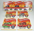 2018 Hot Wheels Redline 50th Anniversary Set With VW Beetle 3 Variations 7 Cars