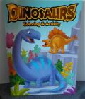 Dinosaurs Coloring And Activity Book Vision St Tear  Share Pages 2018 3+ New