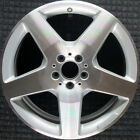 Mercedes Benz ML550 Machined 19 inch OEM Wheel 2012 2015 1664011902 16640119027