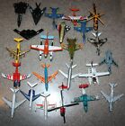 Lot of 23 Toy Airplanes Helicopters Diecast other  used