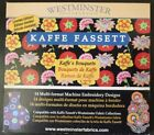 Kaffe Fassett Kaffes Bouquets Embroidery Design CD Electric Quilt Company