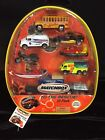Matchbox To The Rescue 10 Pack bonus backpack included Sealed At Zipper NEW