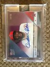 2018 Topps NOW JUSTIN UPTON #OD-170c Road to Opening Day AUTO 19 25 Purple