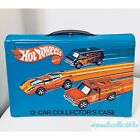 Vintage 1975 Hot Wheels Redline Carrying Case Holds 12 Car Mint Condition Rare